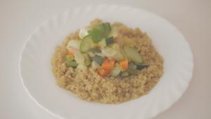Recetas súper chulas – Quinoa converduras